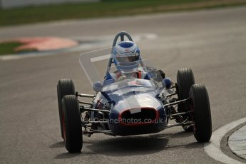 © Octane Photographic Ltd. HSCC Donington Park 17th March 2012. Historic Formula Junior Championship (Front engine). Digital ref : 0241cb7d4185
