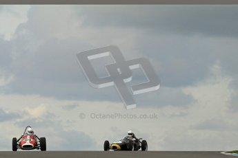 © Octane Photographic Ltd. HSCC Donington Park 17th March 2012. Historic Formula Junior Championship (Front engine). Richard Ellingworth - Gemini Mk2. Digital ref : 0241lw7d5432