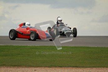 © Octane Photographic Ltd. HSCC Donington Park 17th March 2012. Historic Formula Junior Championship (Front engine). Simon Jones - Elva 100. Digital ref : 0241lw7d5496