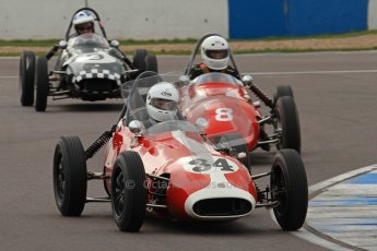 © Octane Photographic Ltd. HSCC Donington Park 17th March 2012. Historic Formula Junior Championship (Front engine). Richard Ellingworth - Gemini Mk2. Digital ref : 0241lw7d5568