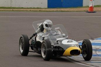 © Octane Photographic Ltd. HSCC Donington Park 17th March 2012. Historic Formula Junior Championship (Front engine). Jack Woodhouse - Elva 100. Digital ref : 0241lw7d5634