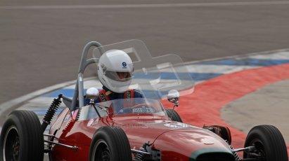 © Octane Photographic Ltd. HSCC Donington Park 17th March 2012. Historic Formula Junior Championship (Front engine). Digital ref : 0241lw7d5719