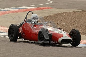 © Octane Photographic Ltd. HSCC Donington Park 17th March 2012. Historic Formula Junior Championship (Front engine). Richard Ellingworth - Gemini Mk2. Digital ref : 0241lw7d5771