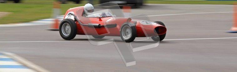 © Octane Photographic Ltd. HSCC Donington Park 17th March 2012. Historic Formula Junior Championship (Front engine). Andrew Tart - Bond FJ. Digital ref : 0241lw7d5870