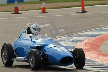 © Octane Photographic Ltd. HSCC Donington Park 17th March 2012. Historic Formula Junior Championship (Front engine). Gordon Wright - Stanguellini. Digital ref : 0241lw7d5997