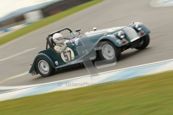© Octane Photographic Ltd. HSCC Donington Park 17th March 2012. Historic Road Sports Championship. Roddue Feilden - Morgan Plus 8. Digital ref : 0242cb1d7345