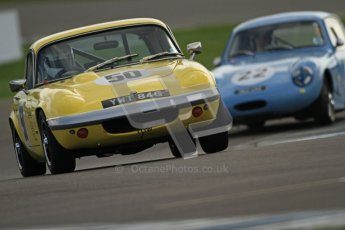 © Octane Photographic Ltd. HSCC Donington Park 17th March 2012. Historic Road Sports Championship. Rachel Watts - Lotus Elan. Digital ref : 0242cb7d4194