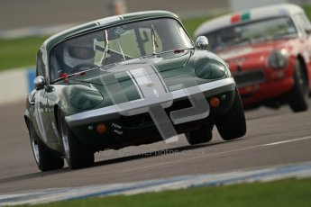 © Octane Photographic Ltd. HSCC Donington Park 17th March 2012. Historic Road Sports Championship. Paul Tooms - Lotus Elan. Digital ref : 0242cb7d4302