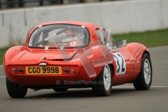 © Octane Photographic Ltd. HSCC Donington Park 17th March 2012. Historic Road Sports Championship. Patrick Ward-Booth - Ginetta G4. Digital ref : 0242cb7d4486