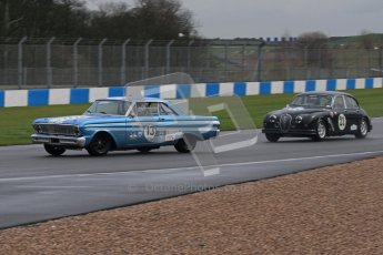 © Octane Photographic Ltd. HSCC Donington Park 18th March 2012. Historic Touring car Championship (over 1600cc). Chris Clackson - Ford Falcon. Digital ref : 0249lw7d9836