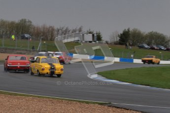 © Octane Photographic Ltd. HSCC Donington Park 18th March 2012. Historic Touring car Championship (over 1600cc). Digital ref : 0249lw7d9995