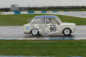 © Octane Photographic Ltd. HSCC Donington Park 18th May 2012. Historic Touring car Championship (up to 1600cc). Jon Orr - Hillman Imp. Digital ref : 0246cb1d7999
