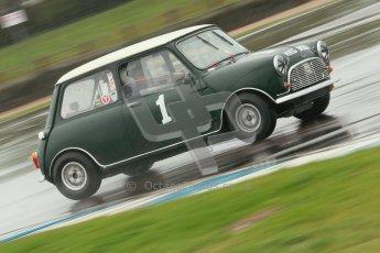 © Octane Photographic Ltd. HSCC Donington Park 18th May 2012. Historic Touring car Championship (up to 1600cc). Roger Godfrey - Austin Cooper S. Digital ref : 0246cb1d8114