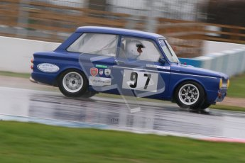 © Octane Photographic Ltd. HSCC Donington Park 18th May 2012. Historic Touring car Championship (up to 1600cc). Mark Jones - Ford Lotus Cortina. Digital ref : 0246cb1d8139