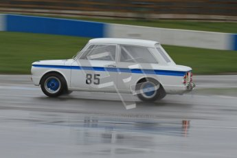 © Octane Photographic Ltd. HSCC Donington Park 18th May 2012. Historic Touring car Championship (up to 1600cc). Nick Lunn - Singer Chamois. Digital ref : 0246lw7d8400