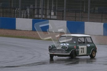 © Octane Photographic Ltd. HSCC Donington Park 18th May 2012. Historic Touring car Championship (up to 1600cc). Marc Earnshaw - Austin Mini Cooper S. Digital ref : 0246lw7d8820