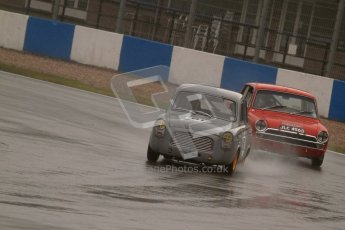 © Octane Photographic Ltd. HSCC Donington Park 18th May 2012. Ed Glaister - Ford Anglia 100E. Historic Touring car Championship (up to 1600cc). Digital ref : 0246lw7d8865