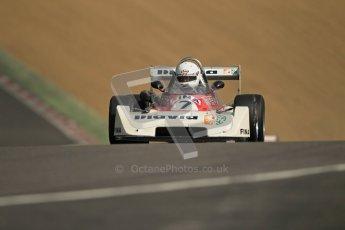 © 2012 Octane Photographic Ltd. HSCC Historic Super Prix - Brands Hatch - 30th June 2012. HSCC - Classic Formula 3 - Qualifying. Richard Trott - Chevron B43. Digital Ref: 0381lw1d8182