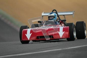 © 2012 Octane Photographic Ltd. HSCC Historic Super Prix - Brands Hatch - 30th June 2012. HSCC - Classic Formula 3 - Qualifying. Hugh Price - Chevron B38. Digital Ref: 0381lw1d8191