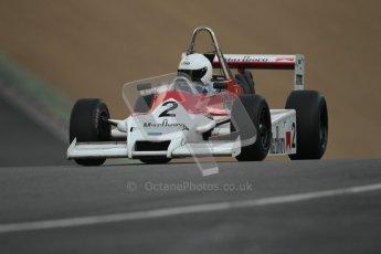 © 2012 Octane Photographic Ltd. HSCC Historic Super Prix - Brands Hatch - 30th June 2012. HSCC - Classic Formula 3 - Qualifying. Benn Simms - March 803B. Digital Ref: 0381lw1d8199