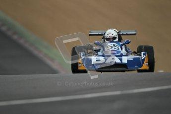 © 2012 Octane Photographic Ltd. HSCC Historic Super Prix - Brands Hatch - 30th June 2012. HSCC - Classic Formula 3 - Qualifying. Bruce Bartell - Chevron B34. Digital Ref: 0381lw1d8220