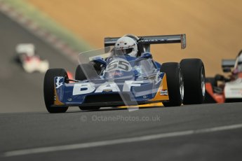 © 2012 Octane Photographic Ltd. HSCC Historic Super Prix - Brands Hatch - 30th June 2012. HSCC - Classic Formula 3 - Qualifying. Bruce Bartell - Chevron B34. Digital Ref: 0381lw1d8281