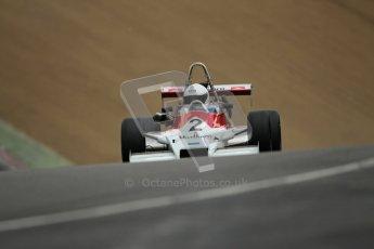 © 2012 Octane Photographic Ltd. HSCC Historic Super Prix - Brands Hatch - 30th June 2012. HSCC - Classic Formula 3 - Qualifying. Benn Simms - March 803B. Digital Ref: 0381lw1d8415