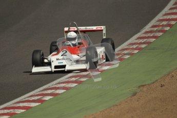 © 2012 Octane Photographic Ltd. HSCC Historic Super Prix - Brands Hatch - 30th June 2012. HSCC - Classic Formula 3 - Qualifying. Benn Simms - March 803B. Digital Ref: 0381lw1d8415Digital Ref: 0381lw1d8462