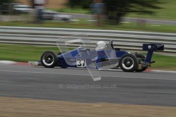 © 2012 Octane Photographic Ltd. HSCC Historic Super Prix - Brands Hatch - 30th June 2012. HSCC Classic Formula 3 - Qualifying. Jonny Domsdale - Van Dieman RF78. Digital Ref: 0377lw7d4341