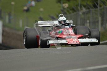 © 2012 Octane Photographic Ltd. HSCC Historic Super Prix - Brands Hatch - 30th June 2012. HSCC Derek Bell Trophy - Qualifying. James Hagan - Ensign N177. Digital Ref : 0376lw1d0031