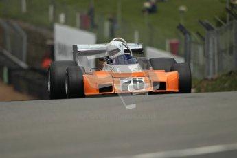 © 2012 Octane Photographic Ltd. HSCC Historic Super Prix - Brands Hatch - 30th June 2012. HSCC Derek Bell Trophy - Qualifying. Tim Barry - Trojan T102. Digital Ref : 0376lw1d0038