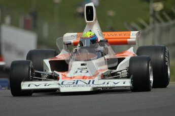 © 2012 Octane Photographic Ltd. HSCC Historic Super Prix - Brands Hatch - 30th June 2012. HSCC Derek Bell Trophy - Qualifying. Neil Glover - Lola T330/332. Digital Ref : 0376lw1d9768