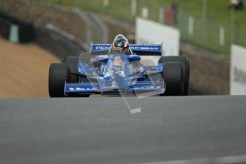 © 2012 Octane Photographic Ltd. HSCC Historic Super Prix - Brands Hatch - 30th June 2012. HSCC Derek Bell Trophy - Qualifying. Michael Lyons - Hesketh 308, Historic F1. Digital Ref : 0376lw1d9813