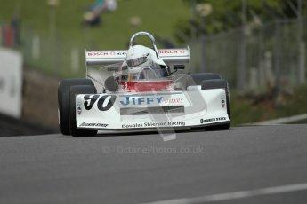 © 2012 Octane Photographic Ltd. HSCC Historic Super Prix - Brands Hatch - 30th June 2012. HSCC Derek Bell Trophy - Qualifying. Ashley Taylor - March 78B. Digital Ref : 0376lw1d9847