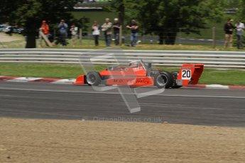 © 2012 Octane Photographic Ltd. HSCC Historic Super Prix - Brands Hatch - 30th June 2012. HSCC Derek Bell Trophy - Qualifying. Matthew Dunne - March Atlantic. Digital Ref: 0381lw7d4867