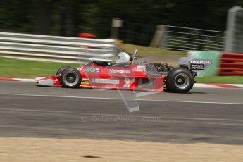 © 2012 Octane Photographic Ltd. HSCC Historic Super Prix - Brands Hatch - 30th June 2012. HSCC - Derek Bell Trophy - Qualifying. James Hagan - Ensign N177. Digital Ref: 0381lw7d5070