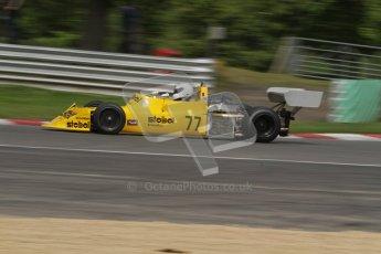 © 2012 Octane Photographic Ltd. HSCC Historic Super Prix - Brands Hatch - 30th June 2012. HSCC - Derek Bell Trophy - Qualifying. Andrew Smith - March 79B. Digital Ref: 0381lw7d5106