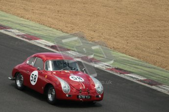 © 2012 Octane Photographic Ltd. HSCC Historic Super Prix - Brands Hatch - 30th June 2012. HSCC - Guards Trophy - Qualifying. Wiight/Clark - Porsche 356A. Digital Ref: 0379lw1d0336