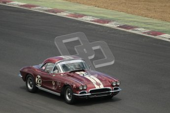 © 2012 Octane Photographic Ltd. HSCC Historic Super Prix - Brands Hatch - 30th June 2012. HSCC - Guards Trophy - Qualifying. Drake - Chevrolet Corvette. Digital Ref: 0379lw1d0349