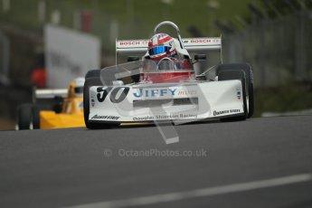 © 2012 Octane Photographic Ltd. HSCC Historic Super Prix - Brands Hatch - 30th June 2012. HSCC Grandstand Motor Sport Historic Formula 2 - Qualifying. Daryl Taylor - March 78B. Digital Ref: 0377lw1d8924
