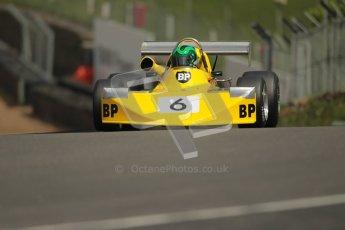 © 2012 Octane Photographic Ltd. HSCC Historic Super Prix - Brands Hatch - 30th June 2012. HSCC Grandstand Motor Sport Historic Formula 2 - Qualifying. Martin Stretton - March 742. Digital Ref: 0377lw1d8953