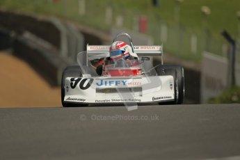 © 2012 Octane Photographic Ltd. HSCC Historic Super Prix - Brands Hatch - 30th June 2012. HSCC Grandstand Motor Sport Historic Formula 2 - Qualifying. Daryl Taylor - March 78B. Digital Ref: 0377lw1d8976