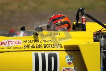 © 2012 Octane Photographic Ltd. HSCC Historic Super Prix - Brands Hatch - 30th June 2012. HSCC Grandstand Motor Sport Historic Formula 2 - Qualifying. Darwin Smith - March 722. Digital Ref: 0377lw1d9018