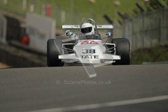 © 2012 Octane Photographic Ltd. HSCC Historic Super Prix - Brands Hatch - 30th June 2012. HSCC Grandstand Motor Sport Historic Formula 2 - Qualifying. James Claridge - Brabham BT38. Digital Ref: 0377lw1d9031