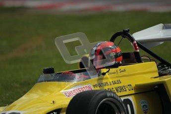 © 2012 Octane Photographic Ltd. HSCC Historic Super Prix - Brands Hatch - 30th June 2012. HSCC Grandstand Motor Sport Historic Formula 2 - Qualifying. Darwin Smith - March 722. Digital Ref: 0377lw1d9282