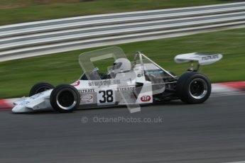 © 2012 Octane Photographic Ltd. HSCC Historic Super Prix - Brands Hatch - 30th June 2012. HSCC Historic Formula 2 - Qualifying. James Claridge - Brabham BT38. Digital Ref: