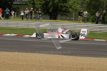 © 2012 Octane Photographic Ltd. HSCC Historic Super Prix - Brands Hatch - 30th June 2012. HSCC Historic Formula 2 - Qualifying. Daryl Taylor - March 78B. Digital Ref: 0381lw7d4874