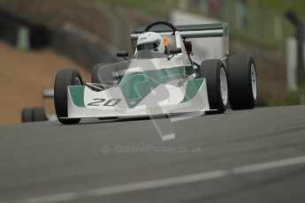 © 2012 Octane Photographic Ltd. HSCC Historic Super Prix - Brands Hatch - 1st July 2012. HSCC - Historic Formula Ford 2000 - Qualifying. David Clark - Dulon MP21. Digital Ref: 0385lw1d1365