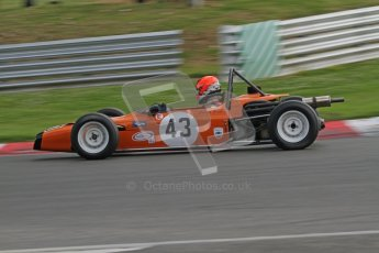 © 2012 Octane Photographic Ltd. HSCC Historic Super Prix - Brands Hatch - 1st July 2012. HSCC - Historic Formula Ford - Qualifying. Callum Grant - Merlyn Mk.20A. Digital Ref: 0383lw7d5251