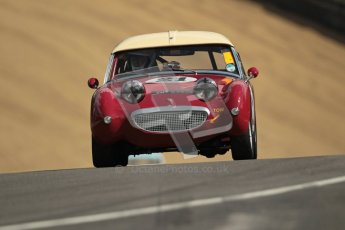 © 2012 Octane Photographic Ltd. HSCC Historic Super Prix - Brands Hatch - 1st July 2012. HSCC - Historic RoadSports - Qualifying. Peter Chappell - Austin Healey Frogeye Sprite. Digital Ref: 0387lw1d0491